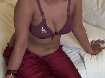 Hot Indian Girl Tantalizing Lingerie