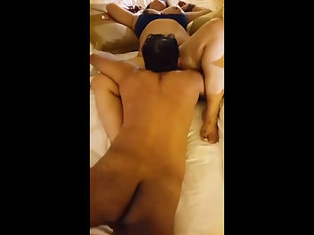 Indian Men Filming GF Pussy Licked