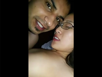 Indian men fucking his hot Chinese gf