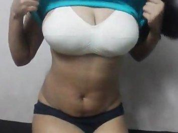 Hottie Sexy Figure Big Boobs Fondled
