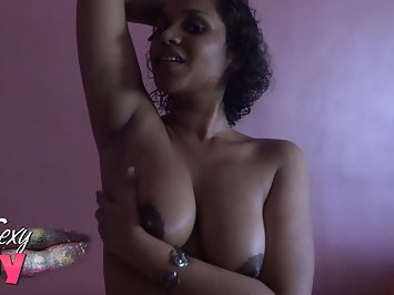 Indian Babe Licking Her Armpits